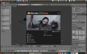 blender 2.56 beta внешний вид