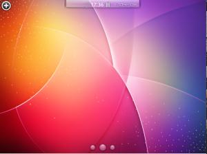 Kubuntu-mobile рабочий стол