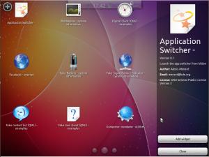 Kubuntu-mobile виджеты