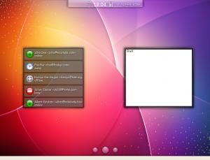 Kubuntu-mobile виджет поступившей электропочты