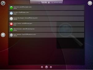 Kubuntu-mobile Увеличенный виджет