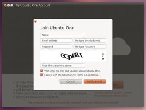 Возможно так будет выглядить интерфейс Ubuntu One