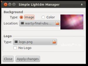 LightDM Manager