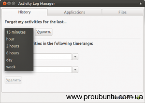 Activity Log Manager