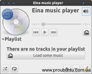 Eina music player