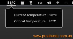 CPU Temperature Indicator