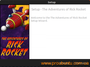 The Adventures of Rick Rocket_setup