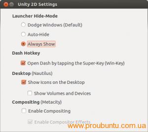 Unity 2D Settings