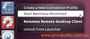 remmina-quicklist